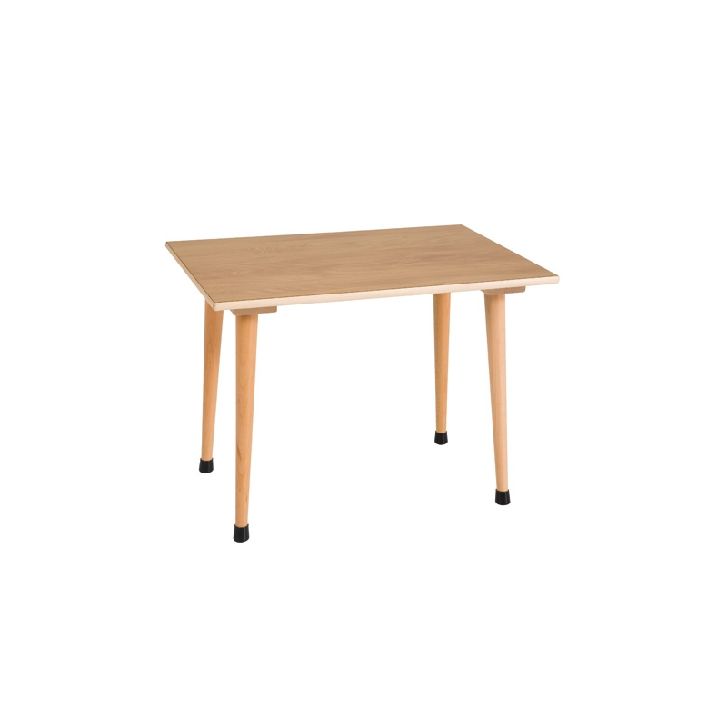 TABLE INDIVIDUELLE A1 SERIE ORANGE 70 x 50 x 46 cm