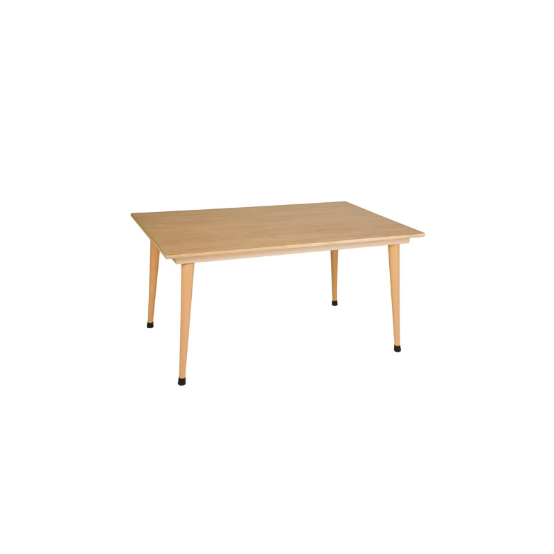 TABLE COLLECTIVE C3  SERIE JAUNE 120 x 80 x 56 cm