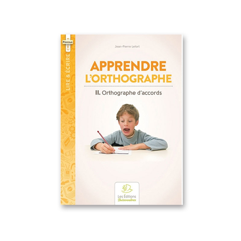 II Orthographe d'accords