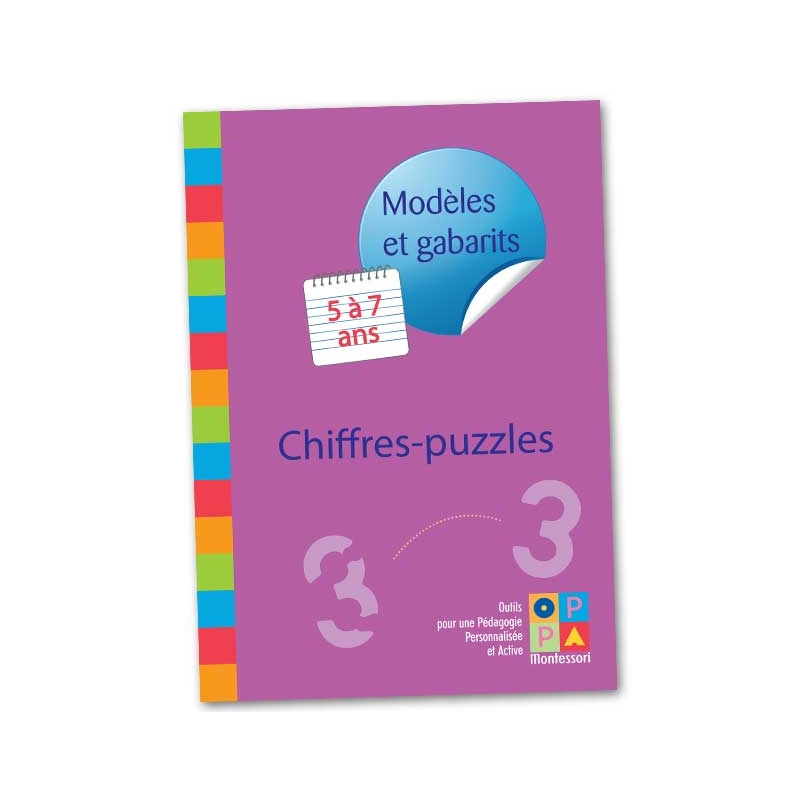 Gabarits chiffres-puzzles