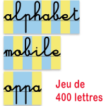 Pack Dictées Muettes + 400 Lettres mobiles