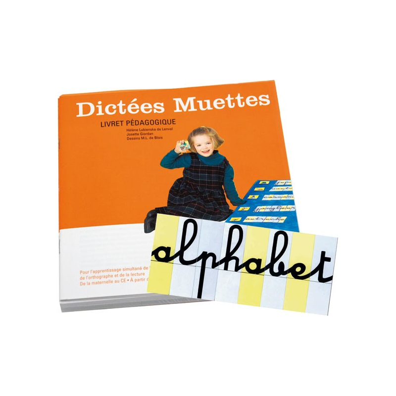 Pack Dictées Muettes + 800 Lettres mobiles