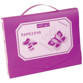 Papillons - Valisette scolaire - grands papillons