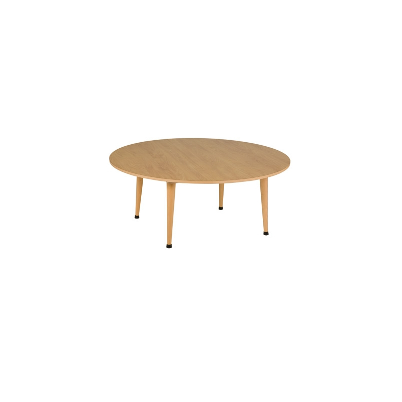 TABLE COLLECTIVE A1 SÉRIE ORANGE RONDE 115 X 46 cm
