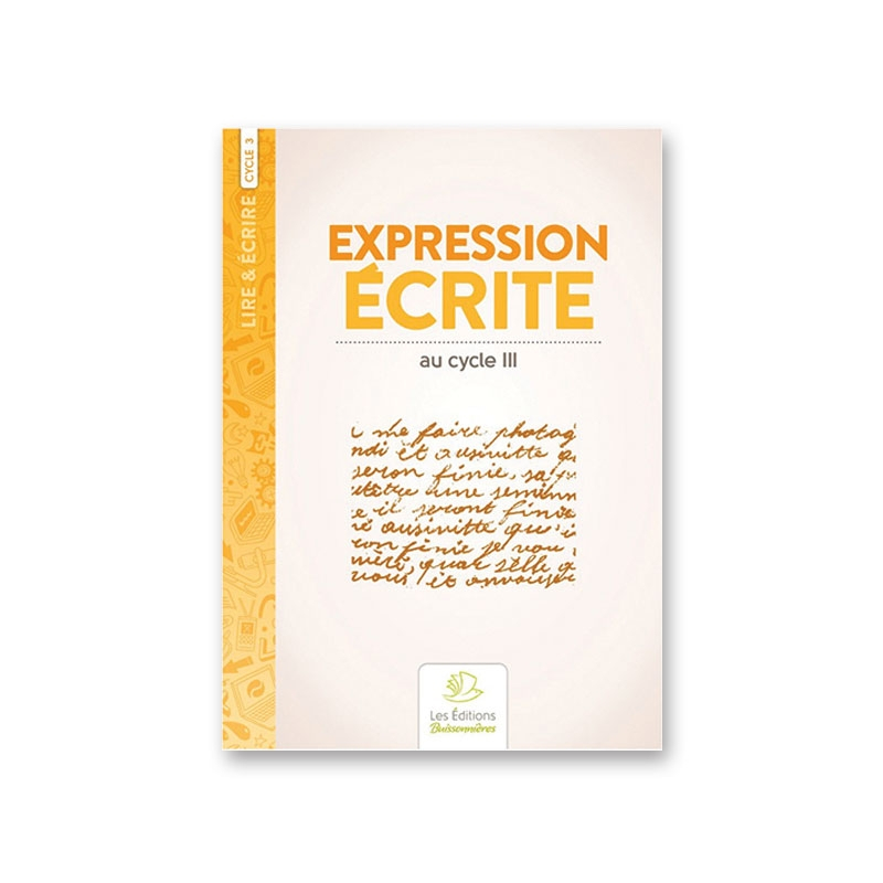 Expression écrite au cycle III