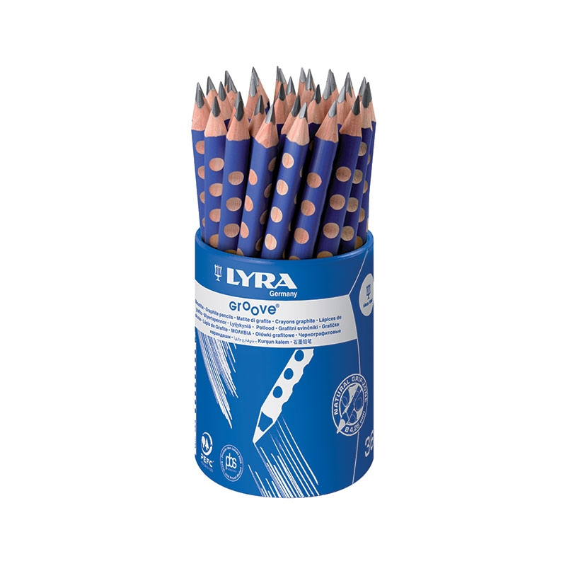 36 Crayons graphite Groove Lyra