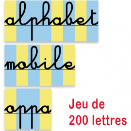 Pack Dictées Muettes + 200 Lettres mobiles