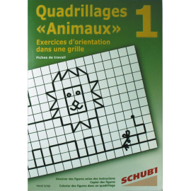 Quadrillage  animaux  1