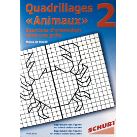 Quadrillage  animaux  2