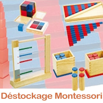 MONTESSORI BUDGET - DESTOCKAGE